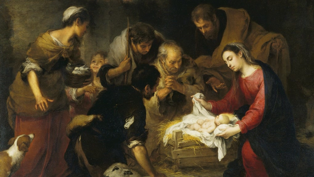 Murillo - The Adoration Of The Shepherds