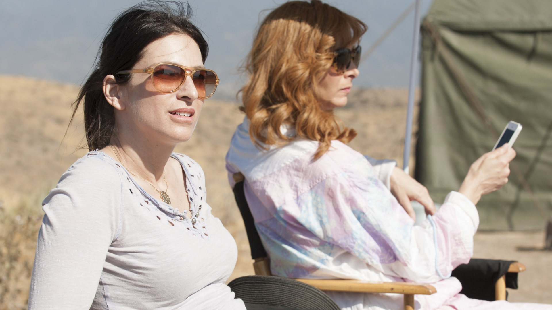 Valerie Cooks In The Desert