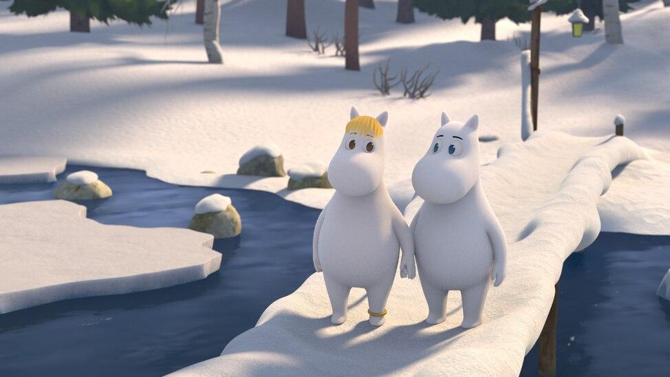 Episode 1 - Moomin's Winter Follies
