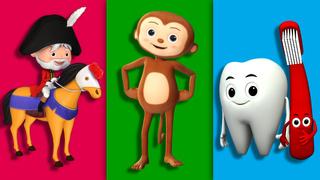 Five Little Monkeys - Part 2