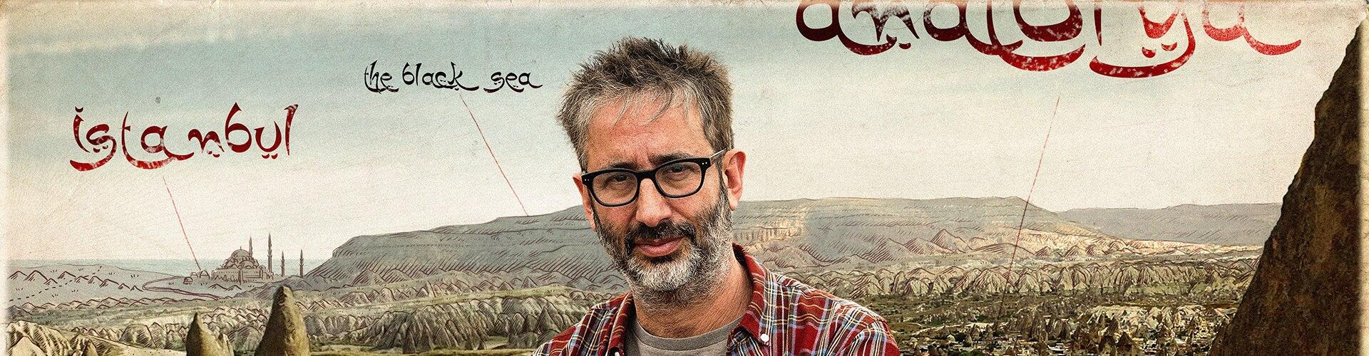 Watch David Baddiel on the Silk Road Online