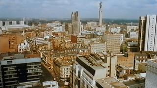 Telly Savalas Looks At Birmingham