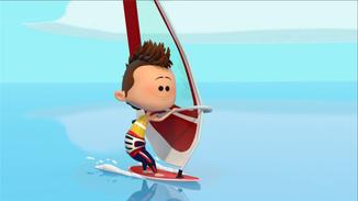 Ep 9 Windsurfing image