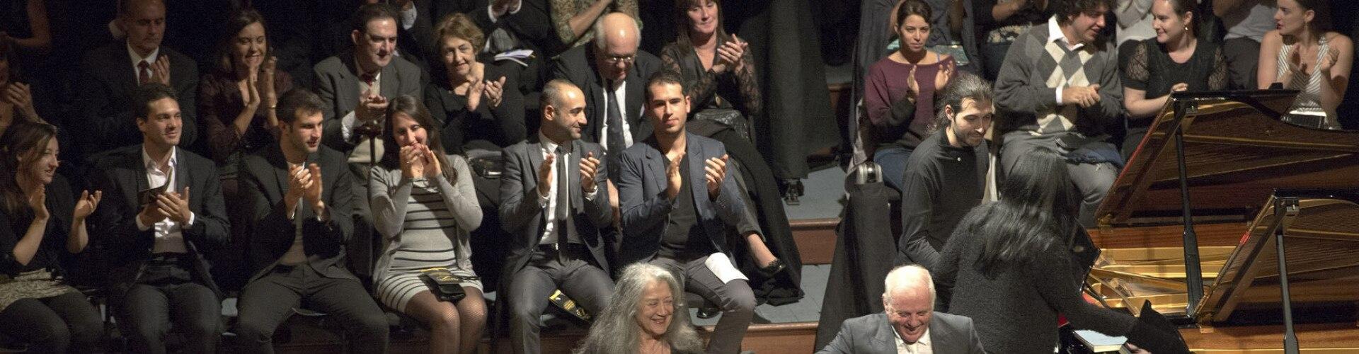 Watch Argerich & Barenboim... Online