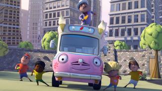 Olly The Little White Van image
