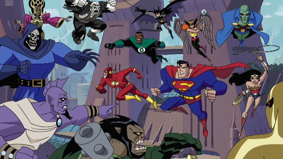 justice league tv series online free