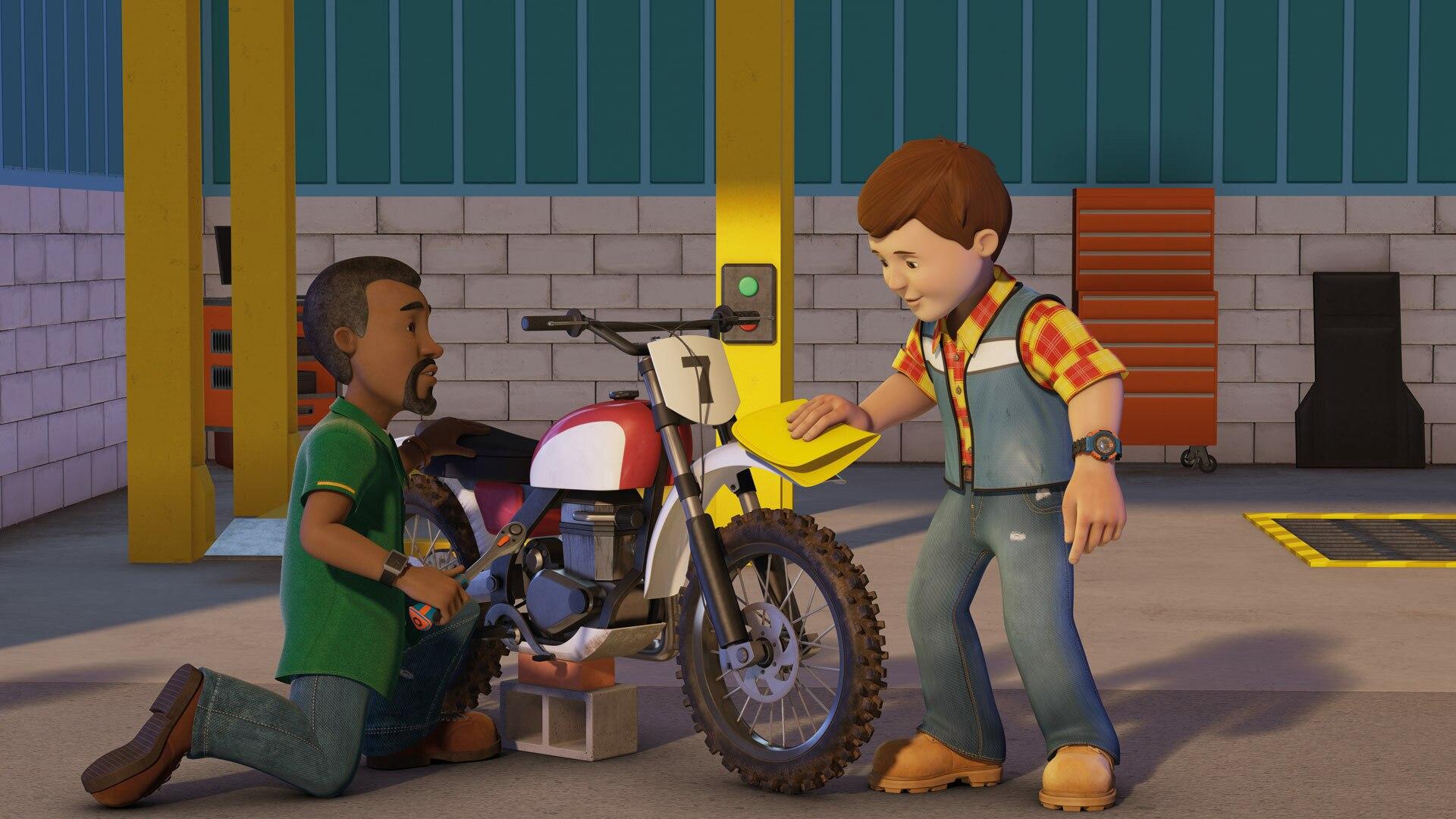 Bob and the Masked Rider