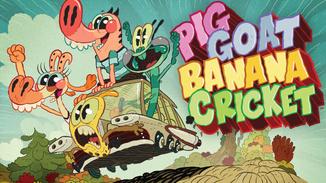 Pig Goat Banana Cricket image