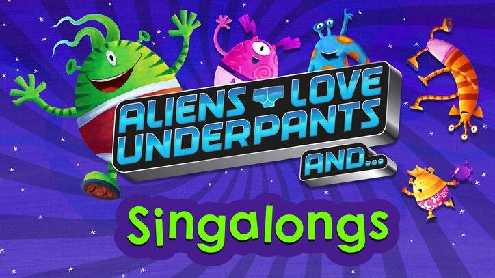 Watch Aliens Love Underpants... Online