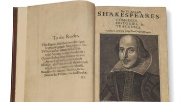 Auction: Shakespeare Special