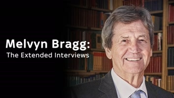 Melvyn Bragg and Gillian Anderson: