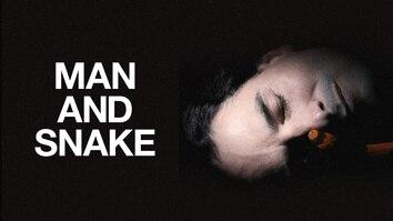 Man and Snake