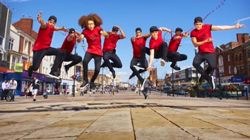 Ashley Banjo's Big Town Dance