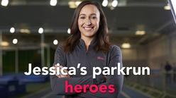 Jessica's parkrun heroes