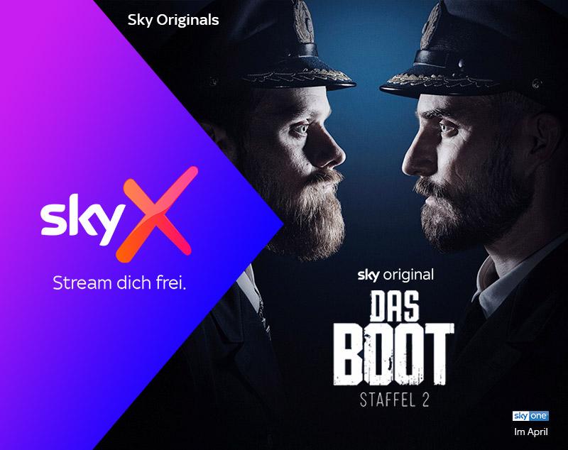 Sky X Serien, Filme, Dokus streamen