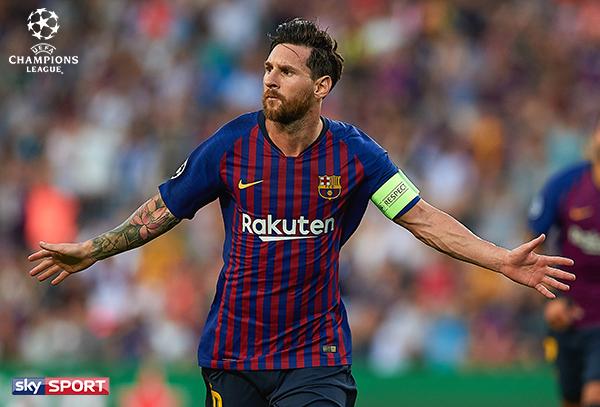 Sky X | Die Champions League mit dem FC Barcelona und Lionel Messi mit Sky X online schauen