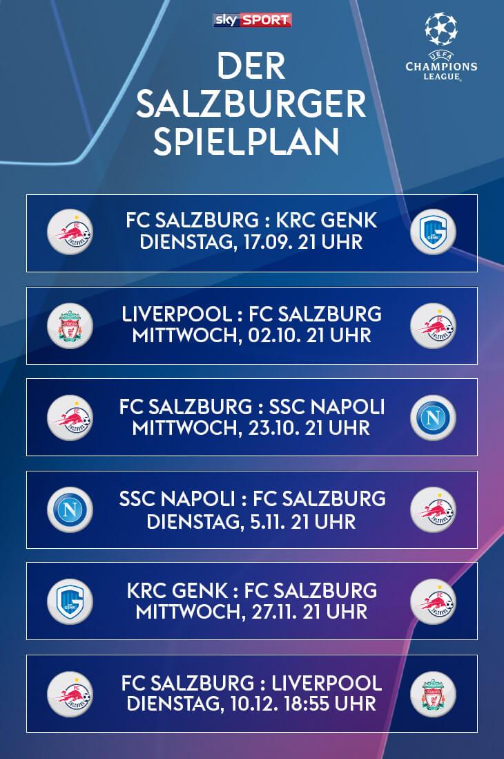Sky X - FC Salzburg Champions League