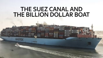 The Suez Canal And The Billion Dollar Boat