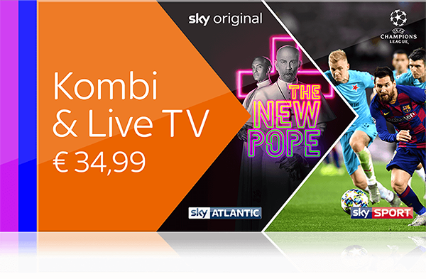 Sky X -  UEFA Champions League live, alle Tipico Bundesliga Matches und  Deutsche Bundesliga streamen