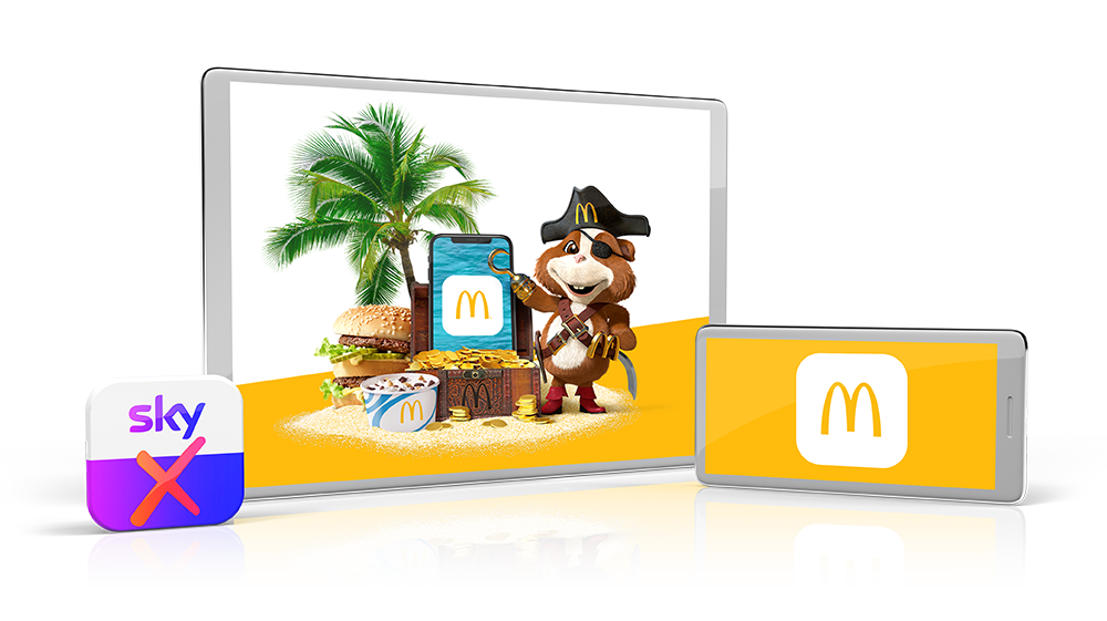 McDonalds Schatzsuche | Sky X