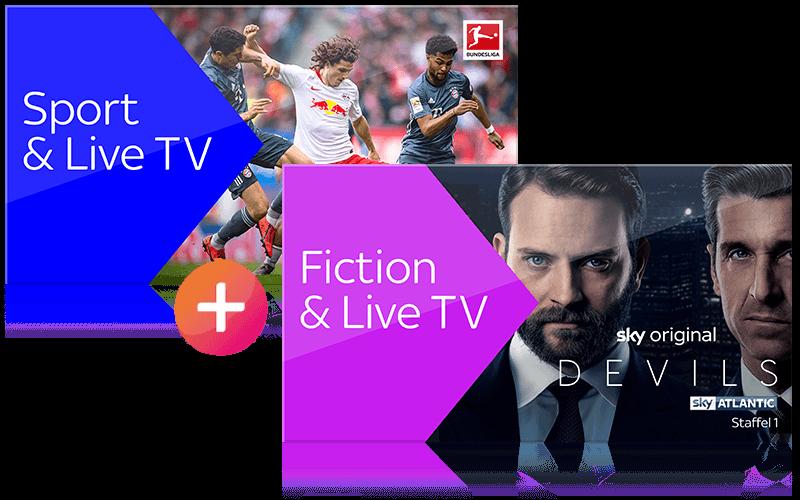 Sky X Fiction & Sport