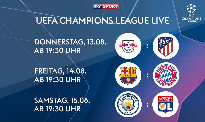 Sky X   Champions League streamen