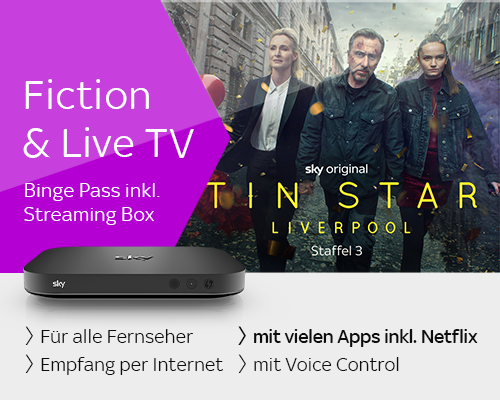 Fiction & Live TV mit Streaming Box