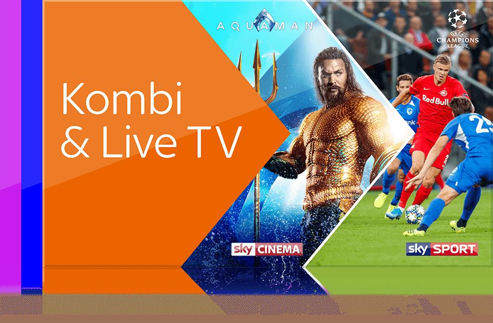 Sky X Kombi & Live TV - UEFA Champions League, Deutsche Bundesliga, Formel 1