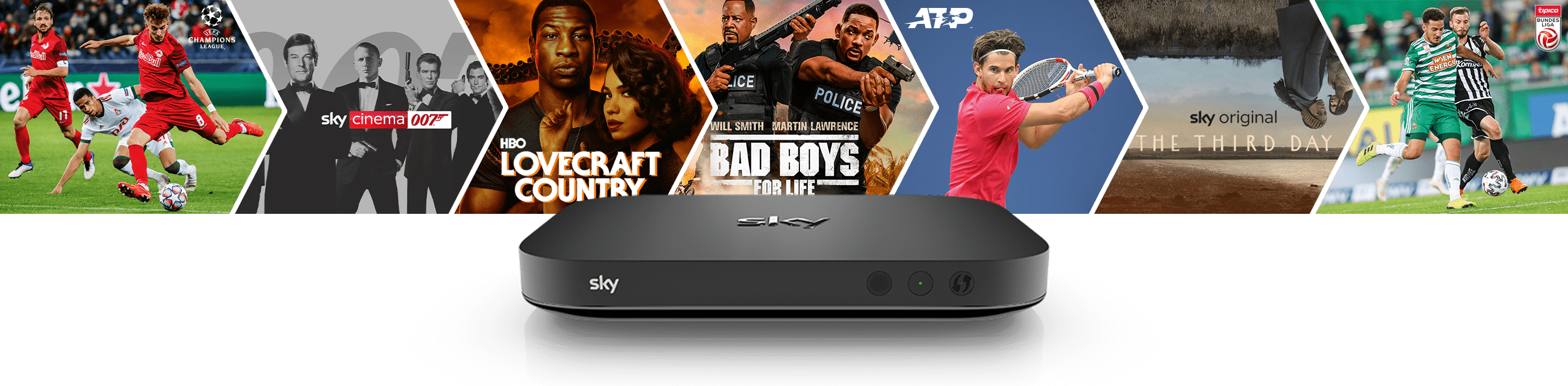 Content + Streaming Box