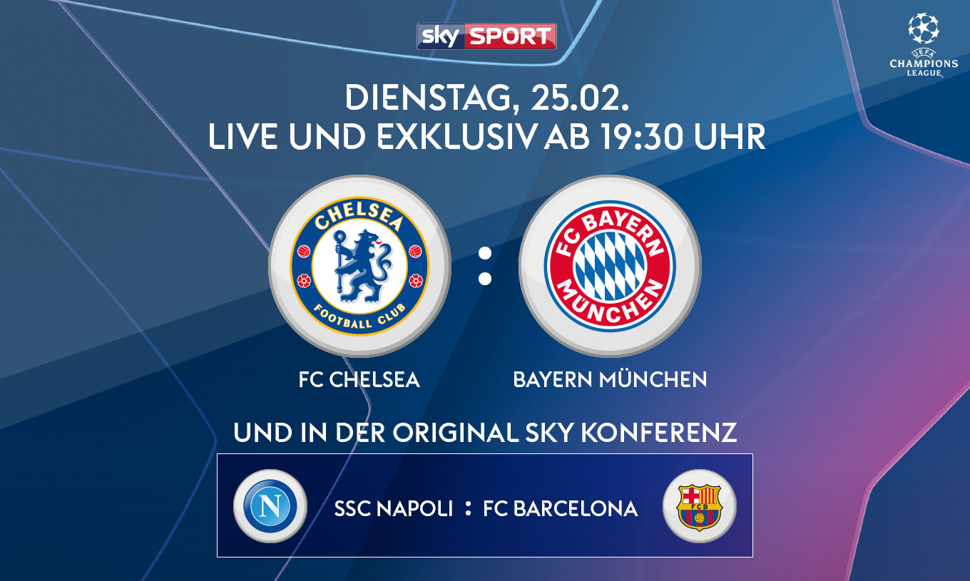 Sky X Champions League streamen
