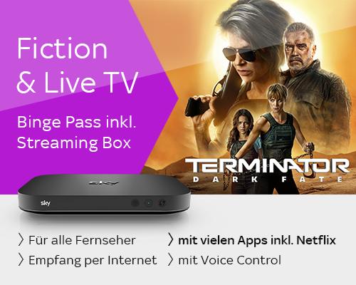 Fiction & Live TV mit Streaming Box