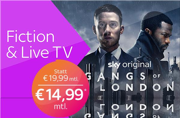 Sky X  Fiction & Live TV - aktuelle Filme, Serien und Live TV 14 Tage gratis online schauen