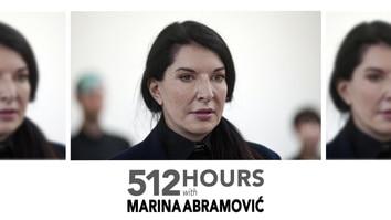 512 Hours With Marina Abramovic