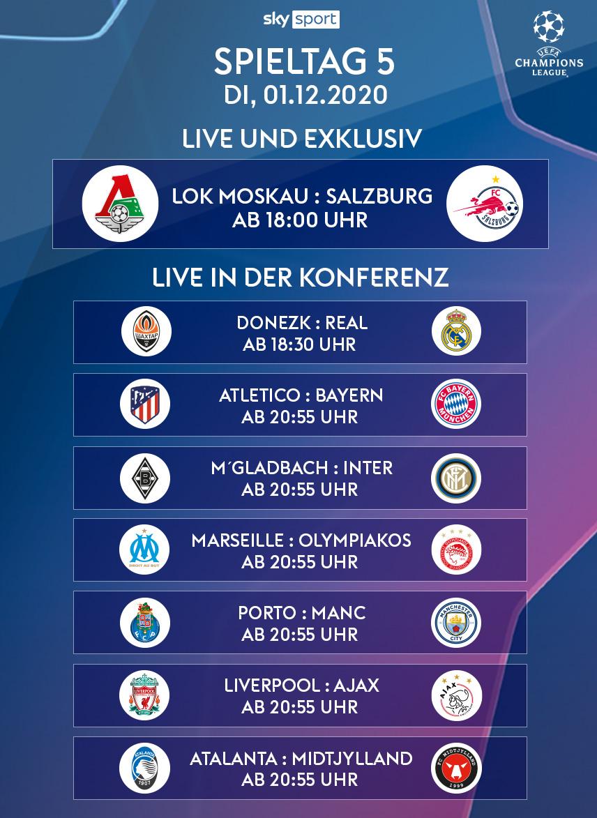 Die UEFA Champions League live streamen mit Sky X