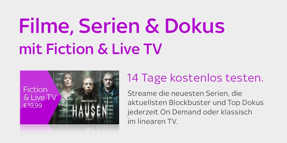 Fiction & Live TV