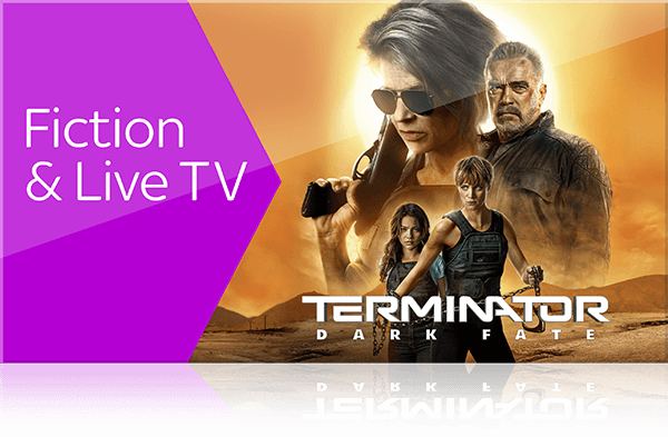 Sky X Fiction und Live TV streamen