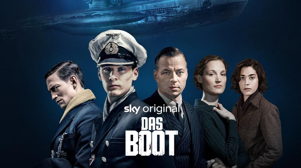 Das Boot mit Sky X streamen