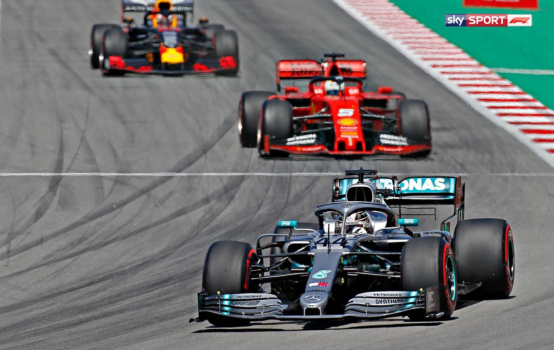 Die Formel 1 bei Sky X live streamen