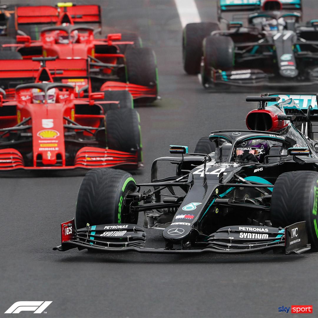 Die Formel 1 live streamen mit Sky X