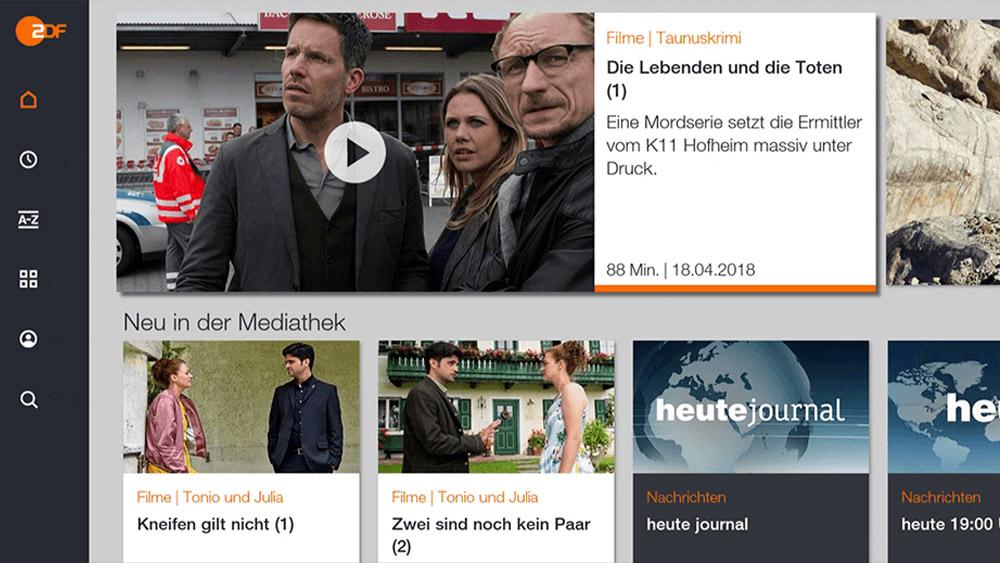 ZDF Mediathek App